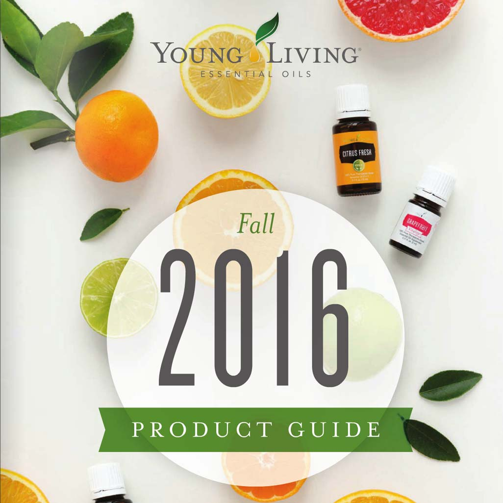 2016 Young Living Fall Product Guide
