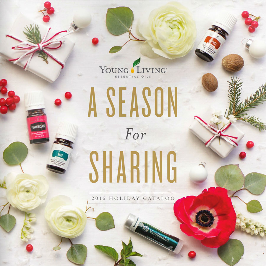 2016 Young Living Holiday Catalog