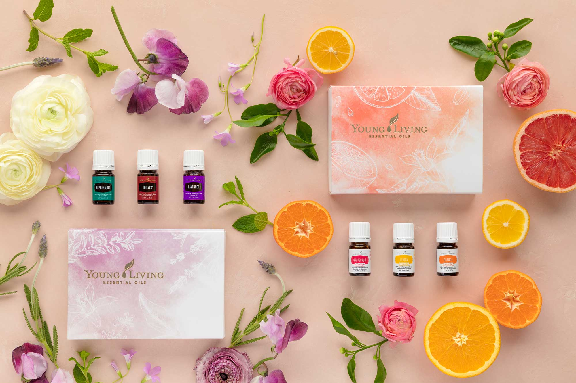 2017 Young Living Spring Special Essential Oil Basics Set and Citrus Vitality Set