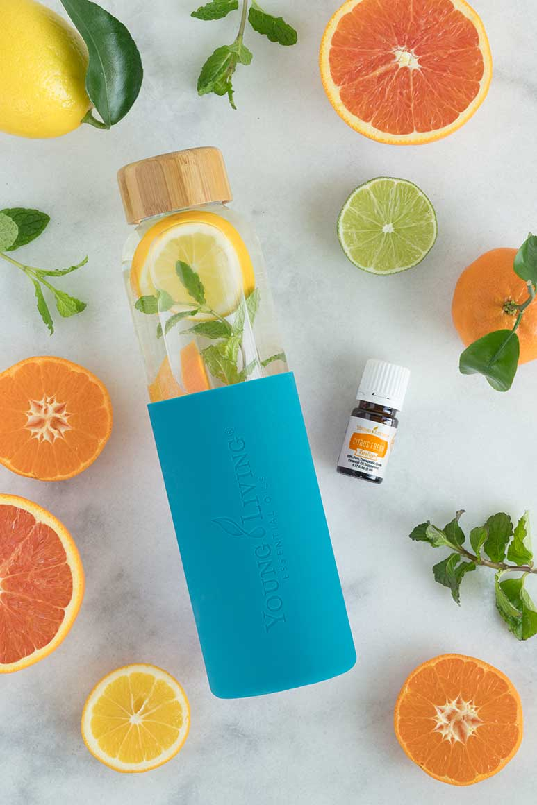 2017 Young Living Spring Special Water Bottle and Citrus Fresh Vitality